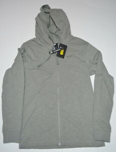 b03a885680 Nike Men s Standard Fit Dual Full Zip Hoodie NEW Size Small 928433 ...