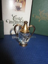 SWAROVSKI CRYSTAL MEMORIES GREEK WINE OR WATER VESSEL SIMPLY SPARKLES  MIB!!!!