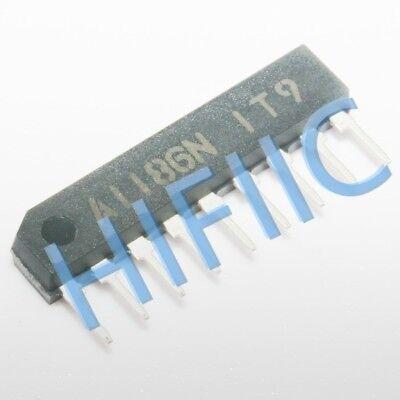 5PCS NEW A1186N LA1186N Manu:SANYO Encapsulation:SIP-9 IC