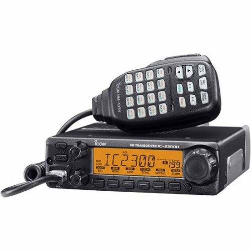 65w Max Mobile Transceiver with MARS//CAP Mod!! Icom IC-2300H VHF 2m