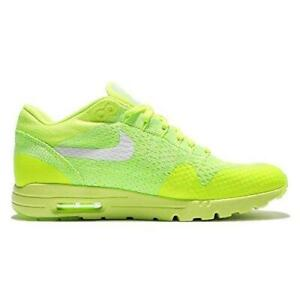 Women's New Style Footwers Nike Air Max 1 Ultra Flyknit Volt