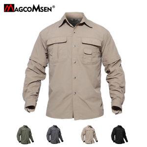 Breathable Mens Shirts Quick-Dry Anti-UV Long Sleeve Casual T-Shirt ... 853d05d6212