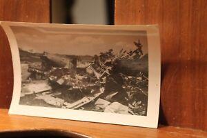 WWII-ca-1944-Photo-3-25x4-5-Crashed-Japanese-Mitsubishi-Plane-Bomber