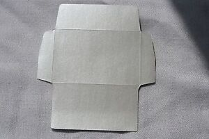 20-SILVER-SMALL-ENVELOPE-BLANKS-60X90MM-FLORIST-WEDDING-FAVOURS-REF-003