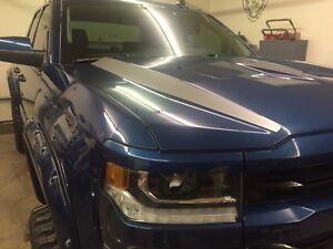 Inner Hood Accent Graphic Stripes 2016 2017 2018 Chevrolet Silverado 1500