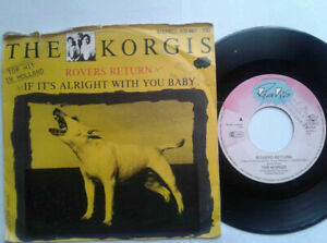 The-Korgis-Rovers-Return-7-034-Vinyl-Single-1980-mit-Schutzhuelle