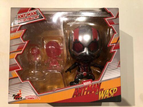 Hot Toys Ant-Man et la guêpe Cosbaby Collectibles Set Marvel Bobblehead Pop