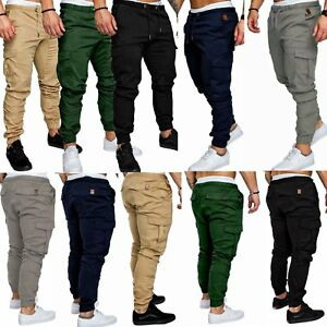 Skinny Pants 2018 New Fashion Hot Popular Mens Slim Fit Urban Straight Leg Trousers Casual Pencil Jogger Cargo Pants