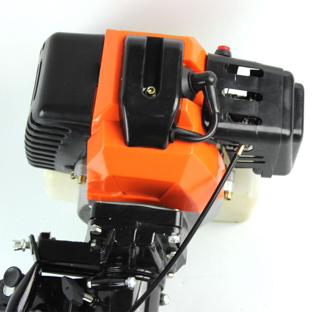 2 2 2 Takt 3,5PS Benzin Stiefelmotor Außenborder Motoren Aussenbordmotor Luftkühlung 7b859a