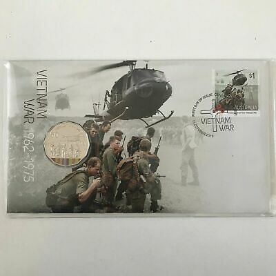 PNC Australia 2016 Vietnam War A Centenary of Service RAM 50c Commemorative Coin