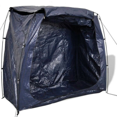 Bike Storage Tent Bicycles Mobile Garage with Zipped Door Cover Carrying Bag