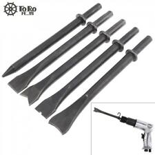"""NEW 5 pcs 6.5/"""" Professional Air Hammer Punch Point Tip Long Air Chisel"""