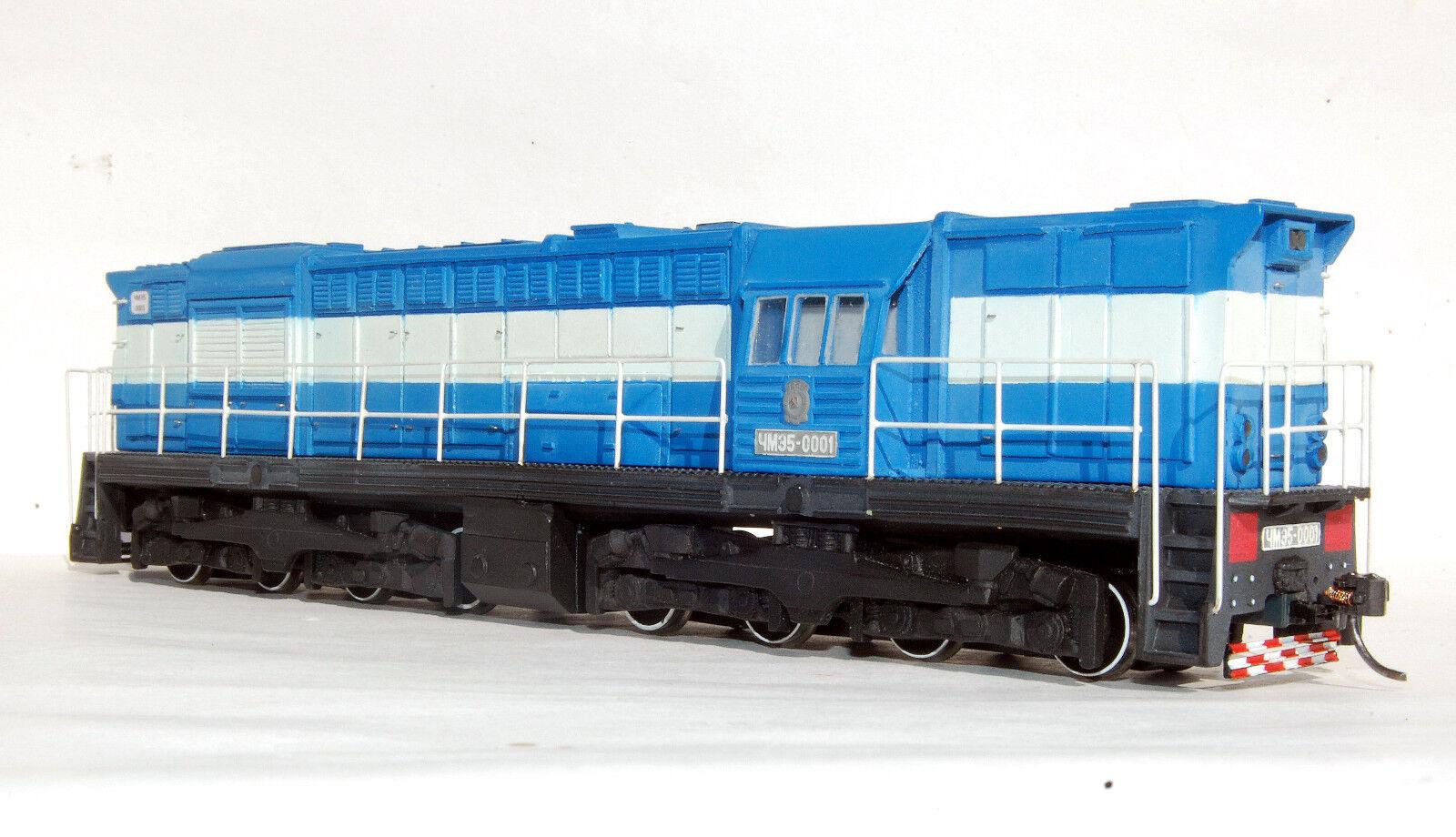Diesel Loco Chme 5-0001 szd Digital Sound DCC Urss Cccp Ruso Escala Ho