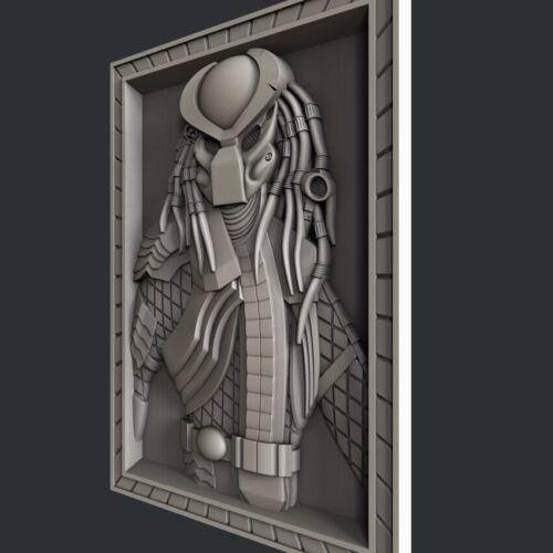 Artcam Predator Aspire 3d STL models for CNC