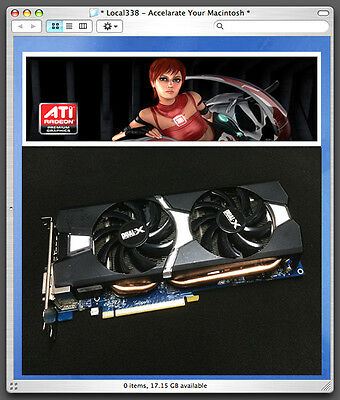 Sapphire Apple AMD Radeon R9 280//HD7950 3GB Graphics Video Card *Mac Pro 3,1-5,1