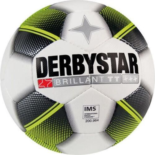 10 ballons de football Derbystar Brillant TT + 1 Brillant APS Neuf