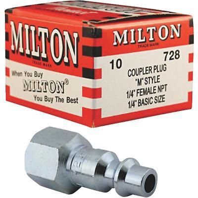 "Milton 728 1//4/"" Fem Plug M-Style"