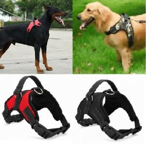 No-Pull-Adjustable-Dog-Pet-Vest-Harness-Quality-Nylon-Small-Medium-Large-XL-XXL