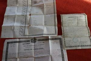 Certificado-De-Buena-Linea-Vacaciones-De-Liberacion-1852-Paso-Envio-Antiguo