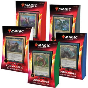 Magic the Gathering Ikoria Commander 2020 Set of 5 Decks