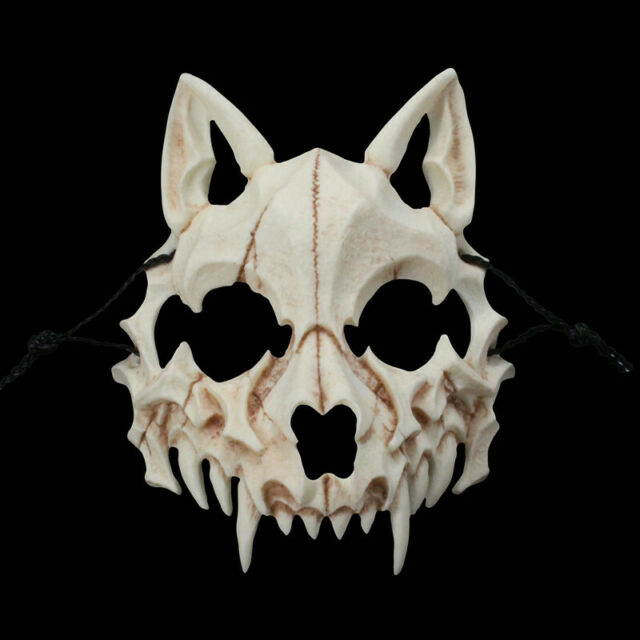 Japanese Tengu Mask Omen Noh Kabuki Samurai Demon Halloween Cosplay Toy Gift