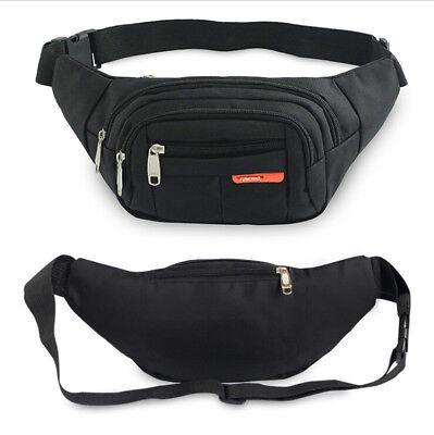 6304 Fanny Pack Men Women Waist Belt Bag Purse Hip Pouch Travel Sport Bum