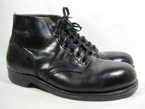 Vintage 1967 Steel Toe US Military Boot Men size 9