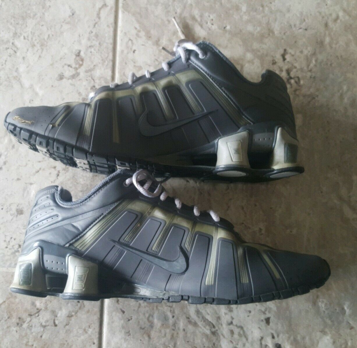 buy online f9c84 84b04 ... Mens Size Size Size 11.5 Grey Nike Shox O Leven Flywire Running shoes  429869- ...