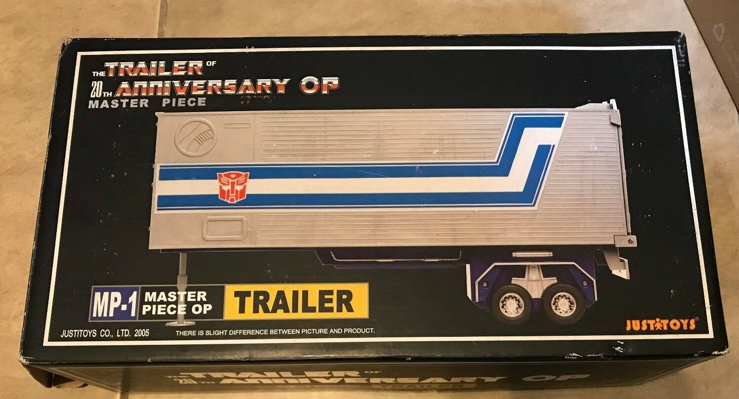 20th Aniversario De Transformers Optimus Prime Trailer MP-1 obra maestra JustiJuguetes
