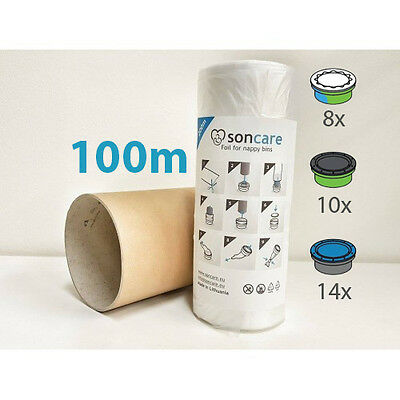 Recarga compatible Sangenic Tommee Tippee Angelcare y Sangenic para pañales 200m