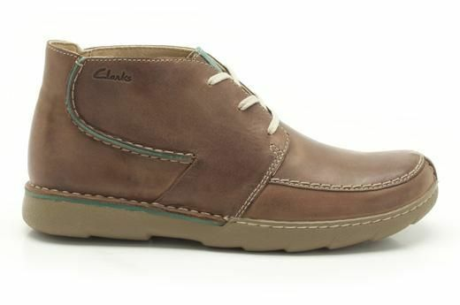 Clarks Men   X MOSABE RISE  MULTI TAN LEATHER  UK 9,9.5,10,11 G
