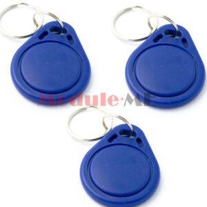 10PCS-13-56MHz-RFID-IC-Claves-Etiquetas-NFC-Tag-Llavero-Llaveros-token-para-Arduino