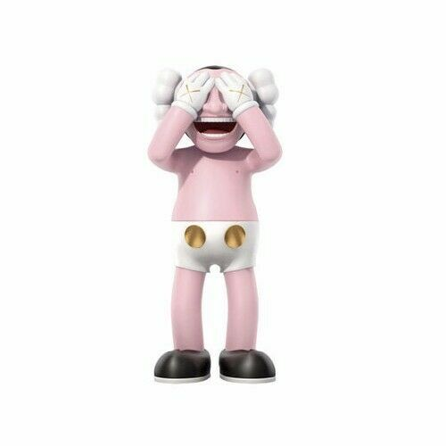 12inches 30CM KAWS X Yue Minjun MOT Art Toy PVC Original Fake companion RARE