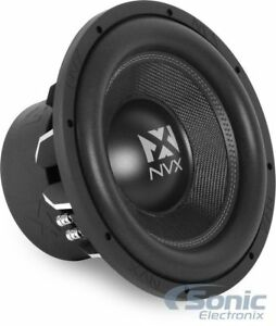 New-NVX-VCW124-2000-Watts-12-034-Inches-VC-Series-Dual-4-ohm-Car-Audio-Subwoofer