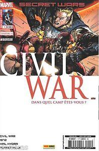 Secret-Wars-Civil-War-N-1-couverture-1-sur-2-Panini-Marvel-Comics-Neuf