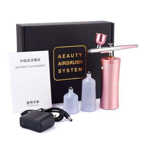 Spray Pump Pen Air Compressor Set Portable Art Tattoo Craft Cake Airbrush Kits