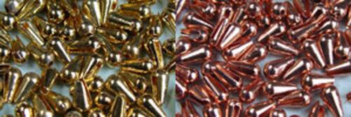 TEAR DROP 3.2mm montage mouche tungsten bead nymph ninfa 25 x GOUTTE TUNGSTENE