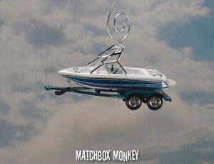 Details about Waterski Wakebord Boat Christmas Ornament Mastercraft Moomba  Supra Water Ski
