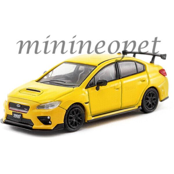 Subaru WRX STI s207 NBR Challenge package Geiser White Pearl 1:18 Sunstar