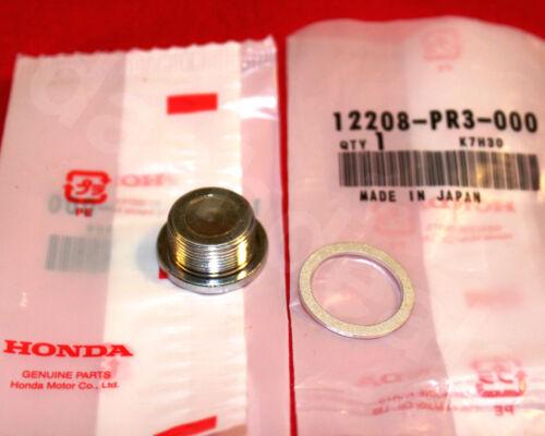 GENUINE OEM HONDA B-SERIES Coolant Port Delete Expansion Plug /& Washer Kit