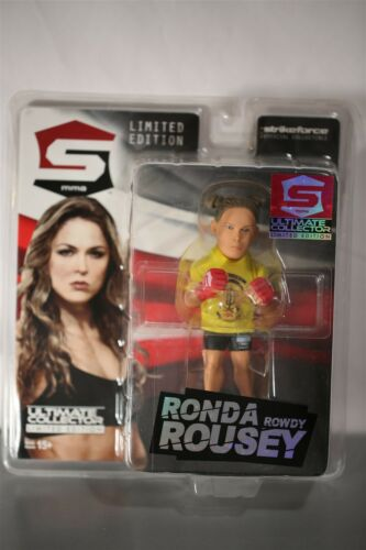 Strikeforce Ultime Collector Série Ronda Rousey//1500 ACTION FIGURE NEW UFC