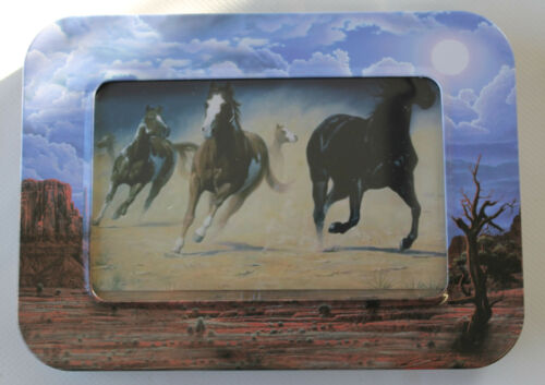 12 x Blank Wild Horse Notables in a Photo Frame Gift Tin