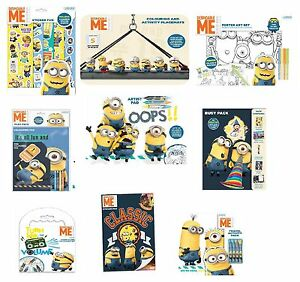 Despicable Me (Minions) Sticker/Colouring/Activity/Packs/Kits/Design ...