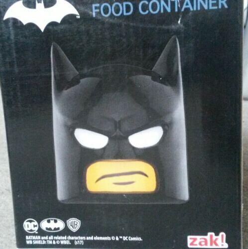 Loot Crate Lego Batman Head Jarre Food Container Zak Exclusive DC Comics