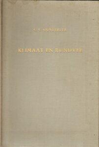 KLIMAAT-EN-RUNDVEE-Cornelis-Catel-Oosterlee-1958-PROEFSCHRIFT