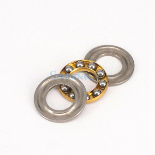 I//D 3mm To 10mm Miniature Axial Ball Flat Washers Thrust Bearings 3-Parts ABEC-1