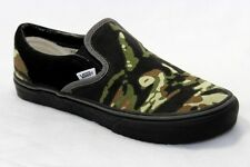 VANS Women's Size 10 OFF THE WALL RED LABLE Camouflage Skateboard Slipon MINT