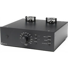 Pro-Ject Tube Box DS2 Premium MM/MC Phono Röhren Vorverstärker Preamplifier blac
