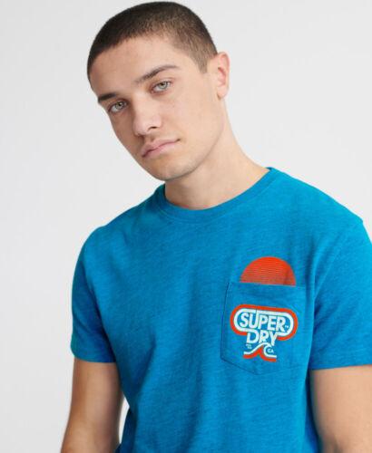Superdry Mens Malibu Mid Pocket T-Shirt