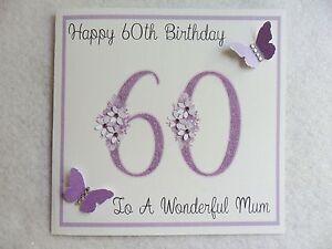 Personalised Handmade Birthday Card 18th 21st Etc Mum Sister Nan Ebay